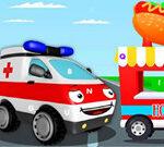 Ambulance Trucks Hidden Letters