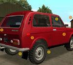 Lada Hidden Car Tires