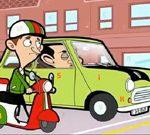 Mr. Bean Car Hidden Letters