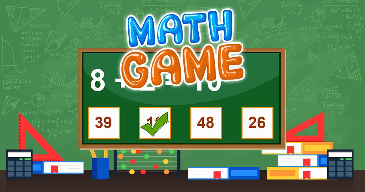 Image Math Game